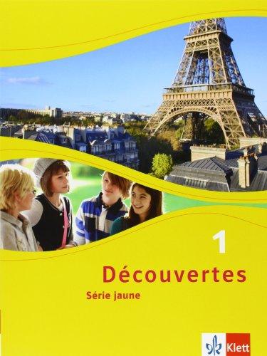 Découvertes 1. Série jaune: Schülerbuch flexibler Einband 1. Lernjahr (Découvertes. Série jaune (ab Klasse 6). Ausgabe ab 2012)