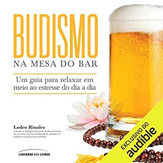 Budismo na mesa do bar [Buddhism at the Bar Table] audiobook cover art