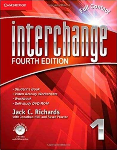 Interchange Level 1 Full Contact with Self-Study DVD-ROM