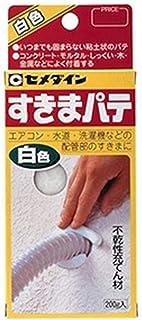 セメダイン 【ケース販売特価 10個セット】 すきまパテ 容量200g HC-146_set