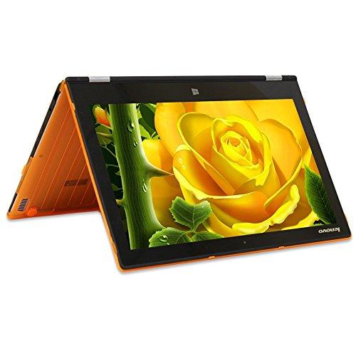 mCover Ligero Funda Dura Lenovo Yoga 3 Pro 11,6 Pulgadas portátil (** No es Compatible con Cualquier Yoga o Yoga 2 Modelo DE 11,6 Pulgadas **) - Naranja