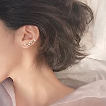 Constellation Delicate Flash Diamond Star Earrings earings Dangler Eardrop s925 Silver Stud Ear Ear Bone Row Creative Gift Accessories Women Girls Ear Bones