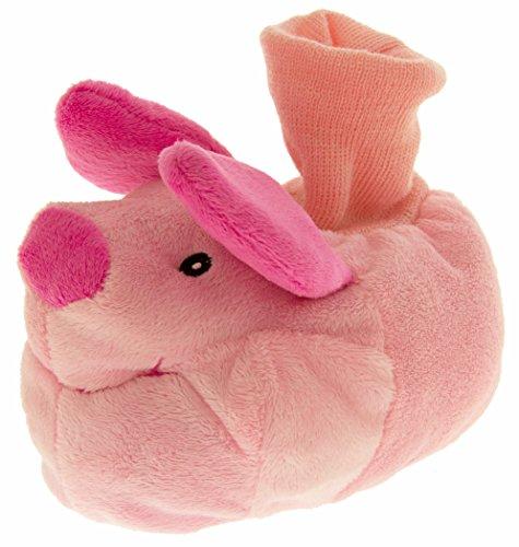 Chaussons fantaisie pour filles garçons petits enfants Disney Winnie l'Ourson taille 36-38 - Rose - Piglet, 24/26 EU