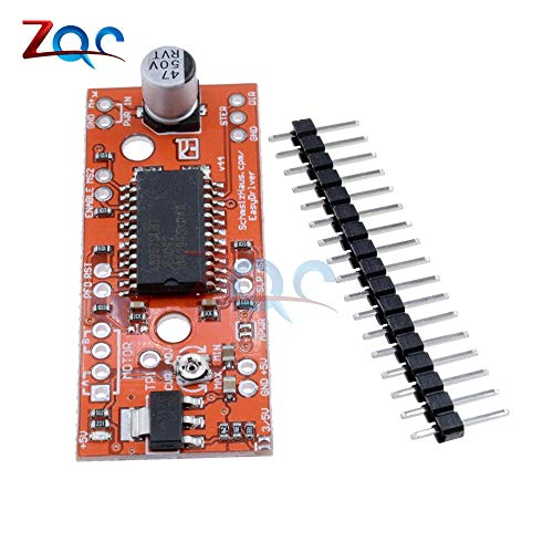 A3967 EasyDriver Shield Stepper Motor Driver Stepper V44 per Arduino Support 4/6/8 Wire Stepper 7V-30V