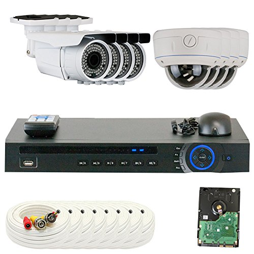 Buy Discount GW Security 8CHC17GW892CVGW812CV 8 CH HD Real-time 30 Fps DVR 8 x 1/2.8 Inches 2.1 MP C...