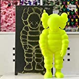 Kaws Action Toy Figure Doll (Beige Yellow) tide brand tide play PVC estatua decoración modelo de jug...