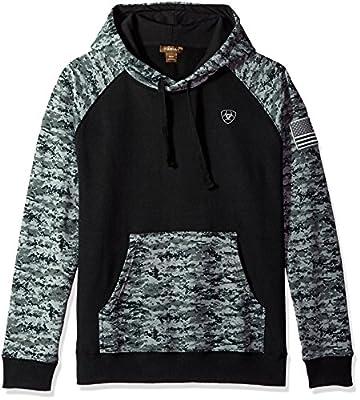 Ariat Men's Patriot HoodieSweatshirt, Black, Med