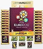 Sammelsticker Euro 2012 Hardcover Deluxe Leeralbum + 20