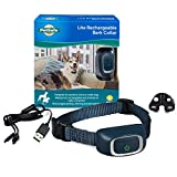 PetSafe Lite Rechargeable Bark Collar, 15 Levels of Automatically Adjusting Static Correction, Rechargeable, Waterproof; Reduces Barking and Whining, for Timid Dogs for 8 lb