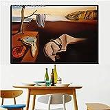 zxddzl Salvador Dali Klassische Kunstdruck Leinwand Malerei Poster 36 50 * 70