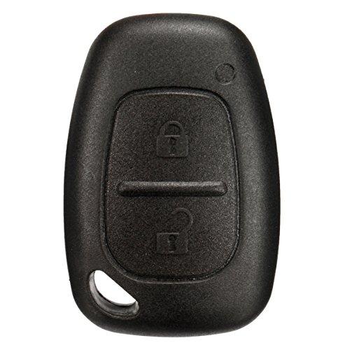 ZHVICKY 2 knoppen afstandsbediening sleutelhanger case shell voor Renault Trafic Vivaro Master Kangoo