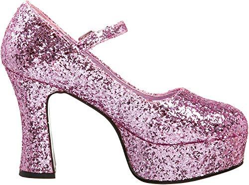 Pleaser  Mar50g/r, Damen Mary Jane Halbschuhe, Pink (Baby Pink), 39 EU ( 6 UK )