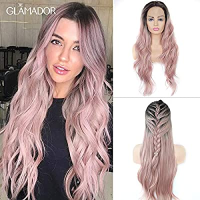 Lace Front Perücke Rosa