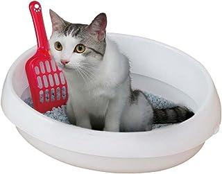 アイリスオーヤマ ネコのトイレ (スコップ付き) しろ Sサイズ (x 1)