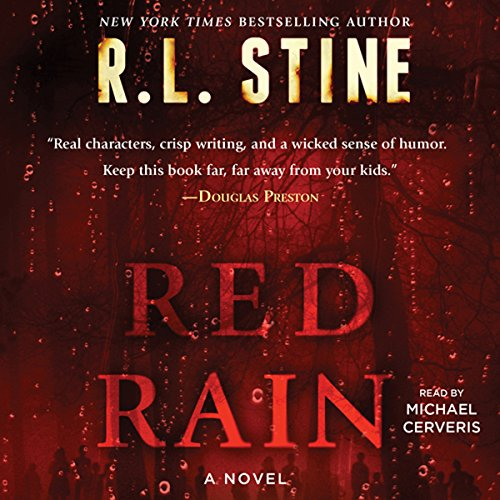 Red Rain audiobook cover art