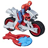 Marvel Spiderman Spiderman Figurine Vehicule Blast & Go Spider Man, B9994