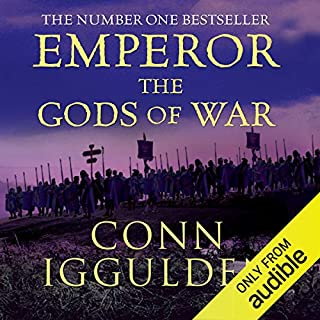 EMPEROR: The Gods of War, Book 4 (Unabridged)                   By:                                                                                                                                 Conn Iggulden                               Narrated by:                                                                                                                                 Paul Blake                      Length: 15 hrs and 22 mins     383 ratings     Overall 4.5