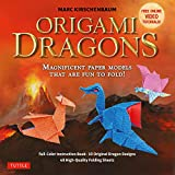 Origami Dragons Ebook: Magnificent Paper Models That Are Fun to Fold! (Includes Free Online Video Tutorials) (English Edition)