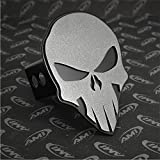 All Sales 1042AMK Ami Skull Style Anthracite on Black Hitch Cover