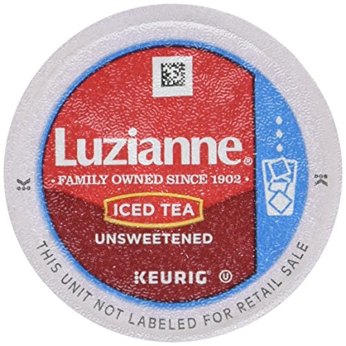 Luzianne Iced Tea, Unsweetened Single Serve K-Cup, (Each 12 Count of 0.18 oz Cups) 2.11 oz