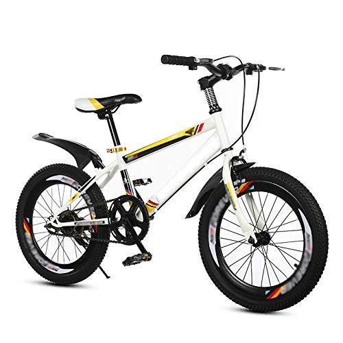 Bicicleta para niños Caixia Deporte al Aire Libre Asiento Ajustable y asa para niños de 4 a 12 años 18 20 Pulgadas Edición clásica niñas(Size:20inch,Color:B)