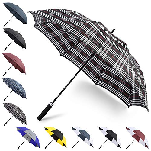 New G4Free 62 Inch Automatic Open Golf Umbrella Sun Protection Windproof Oversize Large Waterproof S...