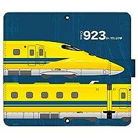 arrows NX F-01J ケース [デザイン:16.ドクターイエロー-navy/マグネットハンドあり] 新幹線 JR東日本 手帳型 スマホケース カバー アロウズ docomo ドコモ f01j