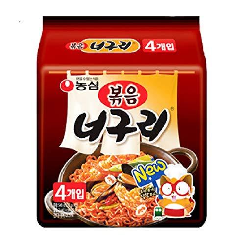 0172 農心ポックム ノグリラーメン 炒め麺137g 4個パック 韓国産 並行輸入品