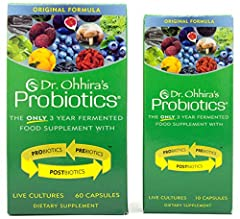 ✅ NOT ARTIFICIALLY GROWN IN A LAB: Subpar brands cut corners by growing their bacteria in a lab with only 1 food source. Dr Ohhira knows better. Dr.Ohhira's feeds his good probiotics dozens of different fruits and veggies. This makes healthier, happi...