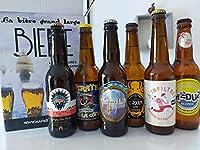 Coffret de 6 bières artisanales Françaises, haut de gamme. - A l'apéro ou au Barbecue, voici 6 bières qui vous donnerons un avant gout des vacances. Un coffret spécial DÉTENTE !! Bonne dégustation... Nous vous proposons le parfait cadeau pour les ama...