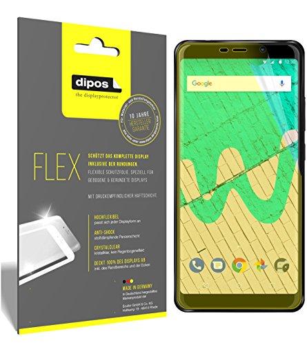 dipos I 3X Schutzfolie 100prozent kompatibel mit Wiko View Max Folie (Vollständige Bildschirmabdeckung) Bildschirmschutzfolie