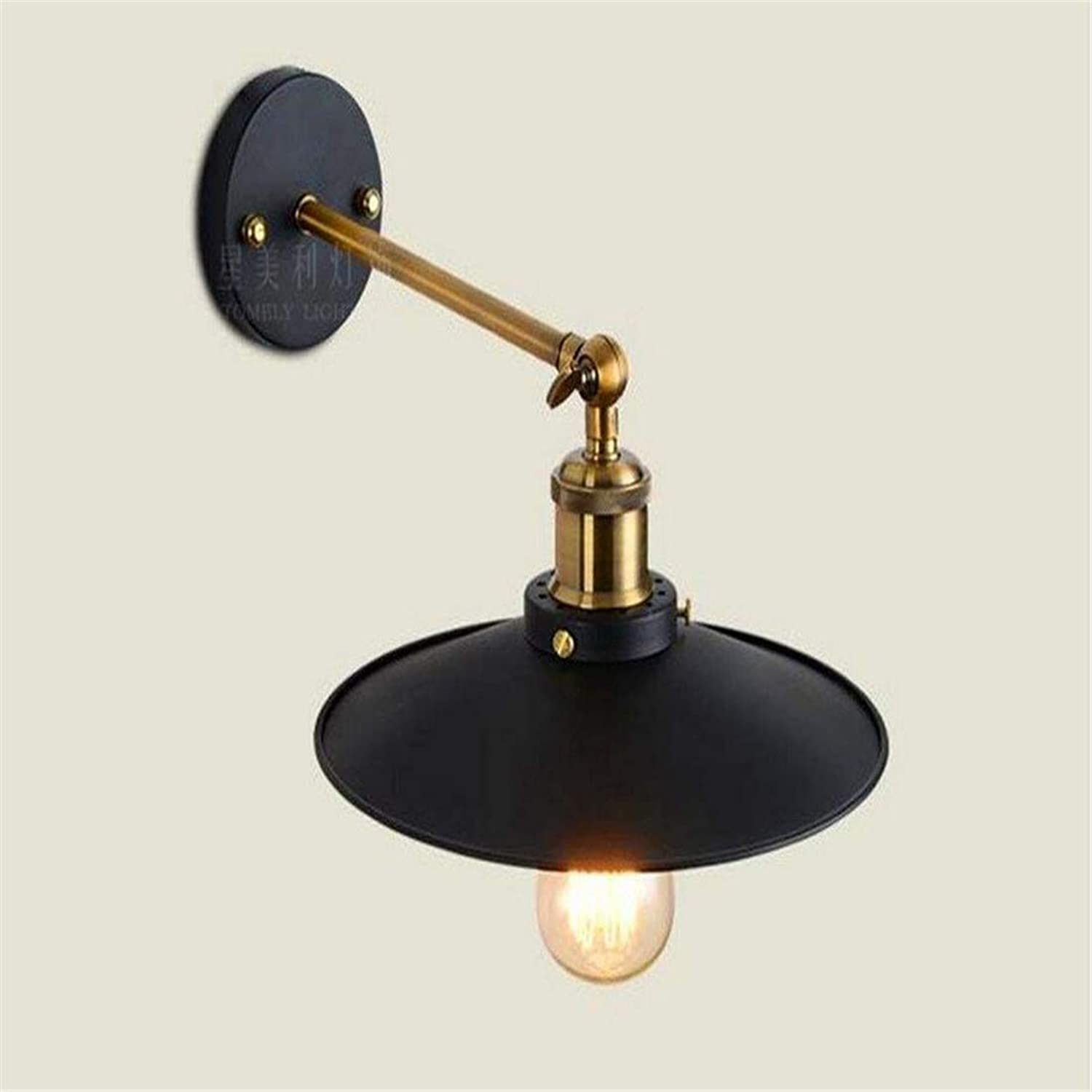 Antique Wall Lamp Iron Wall Lights Should Be 22Cm Living Room Bedroom Corridor Staircase Wall Lamp