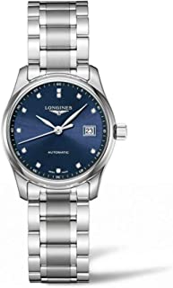 Longines - Master Collection L2.257.4.97.6 - Reloj automático para mujer