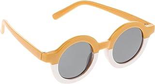 Almencla Óculos de Sol Do Bebê dos miúdos Da Criança do Menino Da Menina Rodada Óculos de Proteção UV Óculos para a Fotogr...