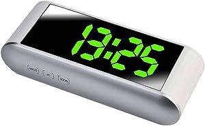 Ben-gi Réveil Multifonction Horloge numérique électronique LED Display 12H 24H Home Decor Miroir Alarme avec température