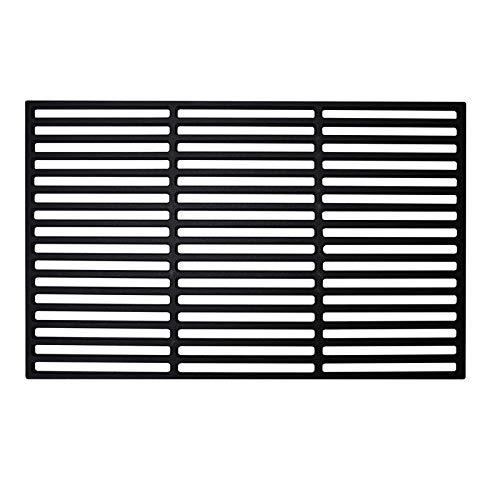 LARS360 Rechteck Gusseisen Grillrost Grillgitter Gussrost Roste, Grillplatten für Gasgrill und Holzkohlegrill, Massiv und Emailliert, Größen (40 x 60 cm)