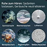 snuutje Einschlafhilfe: Licht-Metronom mit Naturklängen in weiß
