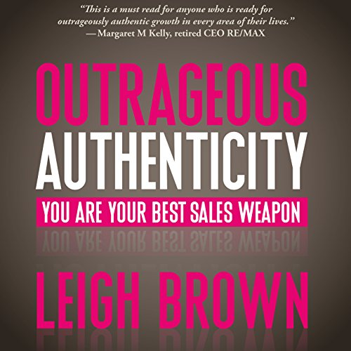 Outrageous Authenticity audiobook cover art