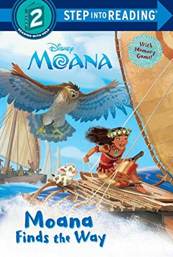 Moana Finds the Way (Disney Moana) (Step Into Reading, Step 2: Disney Moana)