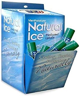 Natural Ice Medicated Lip Protectant/Sunscreen SPF 15, Original 48 ea