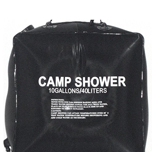 Lowest Price! Portable Outdoor Shower Bag Camping Shower Bath Water Bag Large Capacity Sunshine Heat...