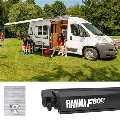 Fiamma F80S 450 Markise, tiefschwarz,...
