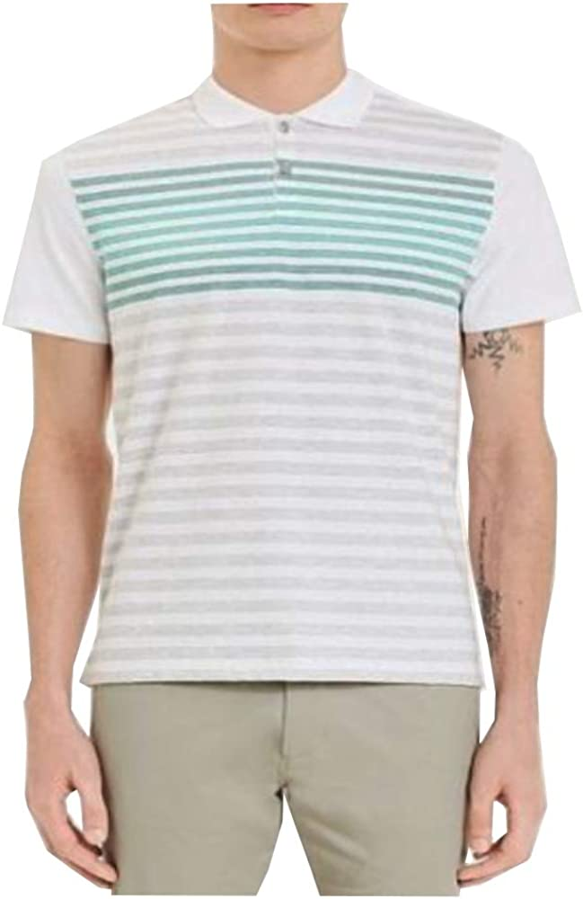 Calvin Klein Men's Liquid Touch Polo High material Uv with Protection Solid Super sale