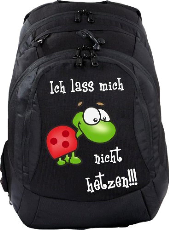 Mein Zwergenland Schulrucksack Teen Teen Teen Compact, 26 L, Schwarz, Ich laß mich nicht hetzen  B00BZ1JD3I | Mittlere Kosten  52952b