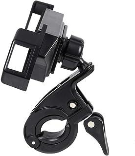 Suporte de celular para bicicleta BESPORTBLE, plástico ajustável, suporte de telefone para motocicleta e motocicleta