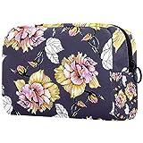 Bolsa de maquillaje de dibujos animados bolsa de cosméticos impresa neceser bolsas de viaje bolsas de cosméticos para mujeres rosa