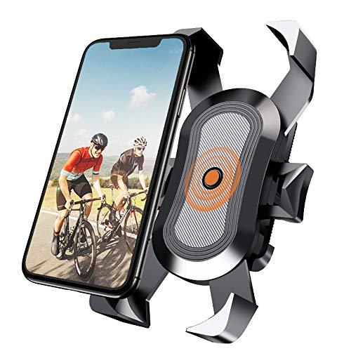 HIOD Soporte para Teléfono de Bicicleta Soporte para Teléfono Móvil de Motocicleta Soporte de Clip para Manillar de Bicicleta Soporte de Montaje para GPS,