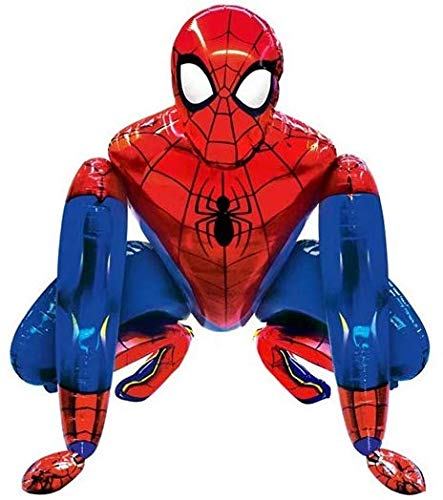 Best Review Of Vision Spiderman Airwalker Medium-Size 25 Foil Party Balloon