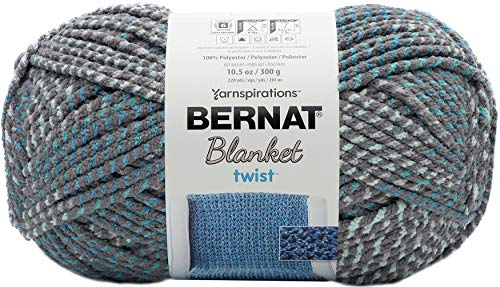 Bernat Blanket Twist Yarn-high Tide