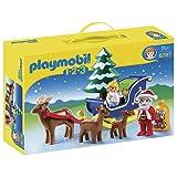 Playmobil 1.2.3 - Trineo de Papá Noel (6787)